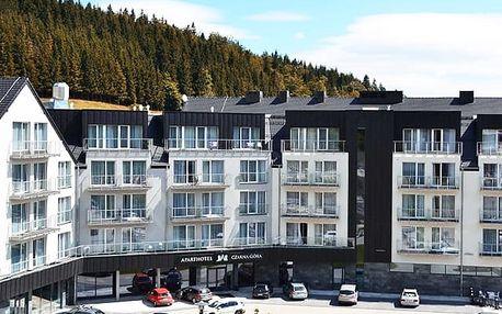 Aparthotel Czarna Góra, Moderní hotel s polopenzí a wellness u Kralického Sněžníku