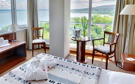 Hunguest Hotel Bál Resort ****, 4* hotel u Balatonu s vlastní pláží, wellness a polopenzí