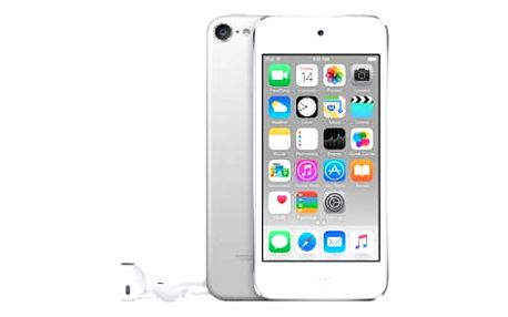 Apple iPod touch - 32GB, bílá/stříbrná, 6th gen. - MKHX2HC/A