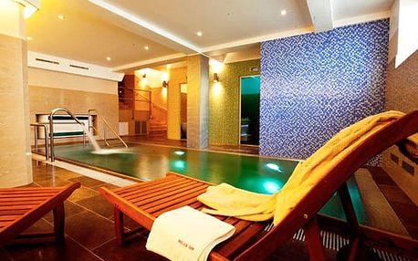 Hotel Relax Inn****, Luxusní 4* ubytování s wellness u stanice metra