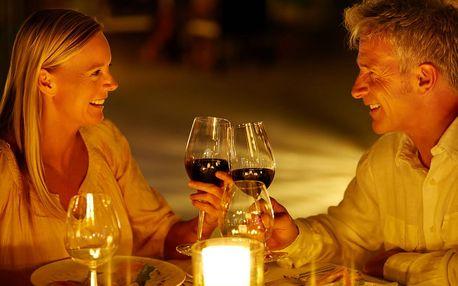 Set kvalitních vín: Cabernet, Merlot, Chardonnay