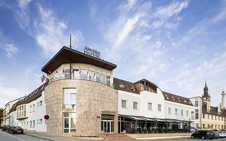 Wine Wellness Hotel Centro****, Moderní ubytování s wellness, polopenzí a dobrým vínem