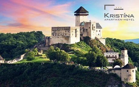 Slovensko, Trenčín - 3-4 dny pro dva včetně snídaní