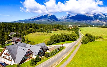 Penzion Lomnický, Relax v horském penzionu pod Tatrami s polopenzí a wellness