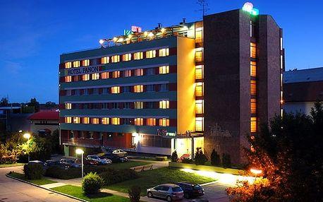 Hotel Panon, Hodonín - save 33%, Komfortní hotel s polopenzí a vstupem na koupaliště