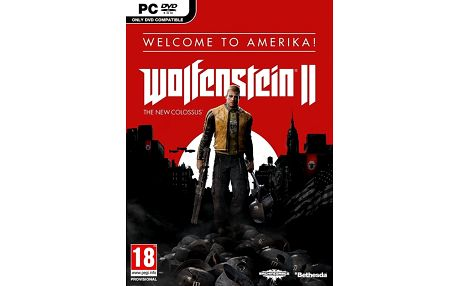 Wolfenstein II: The New Colossus - Welcome to Amerika (PC) - PC + Podtácky Wolfenstein II: The New Colossus