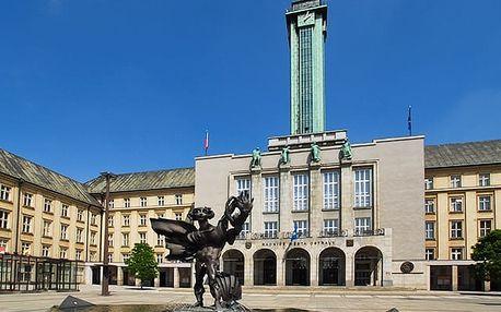 Harmony Club Hotel***, Ostrava - save 28%, Nově zrekonstruovaný 3* hotel pouhé 3 zastávky tramvají od centra Ostravy