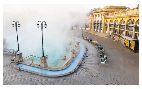 Adventní Budapešť - trhy a termály: 1denní zájezd pro 1 osobu