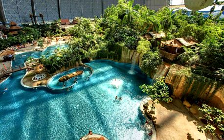 Tropical Islands: 1denní výlet pro 1 osobu či dítě vč. vstupu