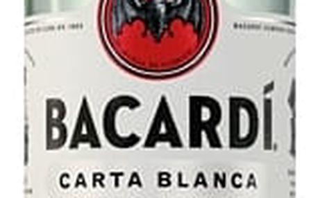 Bacardi Carta Blanca 0,7l 37,5%