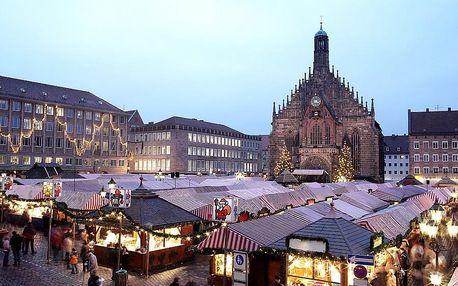 Adventní Norimber - 1denní výlet na adventní trhy