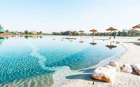 Molo Resort, Osiek, jižní Polsko - save 29%, Moderní resort s bazénem a pláží na břehu umělého jezera