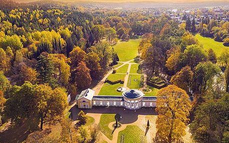 Schlosshotel Mariánské Lázně, Stylový hotel s vlastní rozhlednou a lázeňskými procedurami