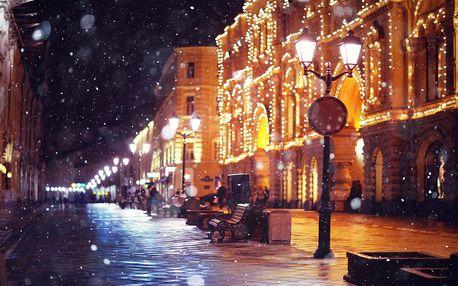 Paříž, advent/silvestr: 4denní výlet pro 1 os. + 1× noc, snídaně