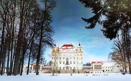 Pałac Wojanów****, Romantický pobyt v královském zámku s polopenzí a wellness