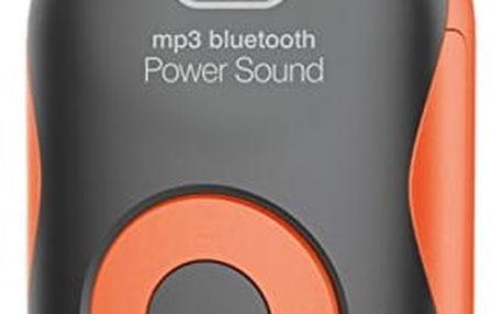 MP3 přehrávač Trevi MP 1710SB/OR + BT,micro SD, oranžový