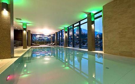 Hotel Lesná****, Luxusní 4* hotel s výhledem na majestátní panorama Vysokých Tater a wellness s bazénem