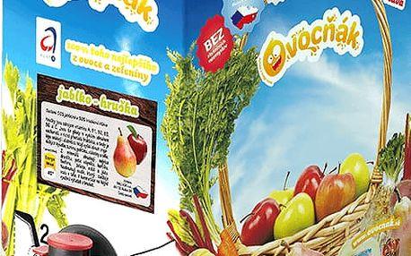OVOCŇÁK Mošt jablko-hruška 3 L - ovocná šťáva