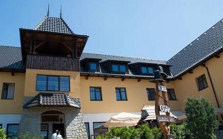 Polopenze pro dva v Hotelu a Valašském šenku Ogar***, kulturní tradice a speciality kuchyně.