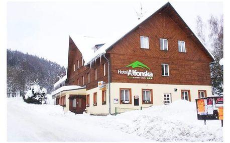 Hotel Alfonska***, Aktivní dovolená s polopenzí v podhůří Krkonoš