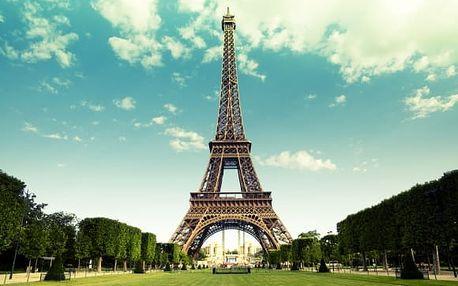 Paříž: 4denní zájezd pro 1 os. + ubytování, snídaně, návštěva lázní