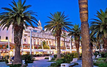 Hotel Jadran Split, Ubytování nedaleko od pamětihodností Splitu, se snídaní a vlastní pláží - dítě do 12 let zdarma