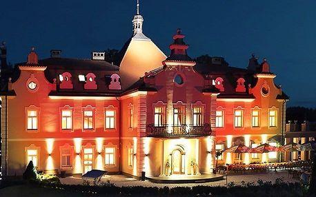 Romantický wellness víkend na zámku Berchtold