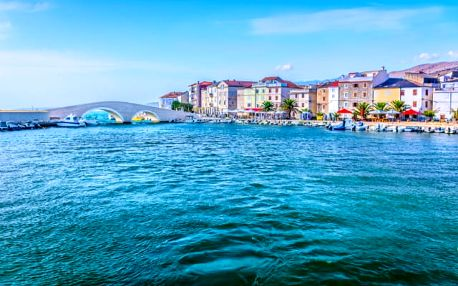Luna Island Hotel****, 4* relaxační pobyt s polopenzí přímo u moře na ostrově Pag