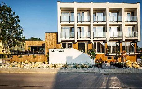 Penzion a Apartmány Moravica***, Moderní 3* penzion s polopenzí a vlastním wellness