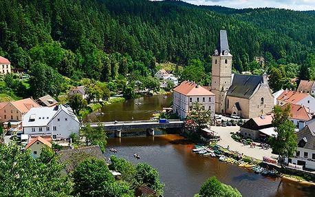 Hotel Studenec***, Komfortní 3* ubytování 30 minut chůze od hradu Rožmberk