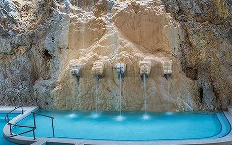 Termální relax v maďarském stylu, Luxusní ubytování, vynikající polopenze, wellness a nezapomenutelné koupání v jeskyni
