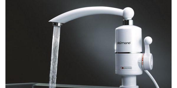 Baterie vodovodní Delimano s ohřevem vody bílý3
