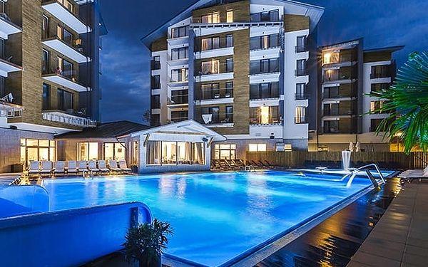 Blue Mountain Resort****, Luxusní 4* apartmány v Krkonoších s bazény a polopenzí