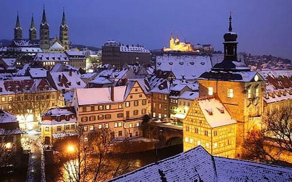 Výlet do adventního Bambergu a Norimberku za historií a trhy