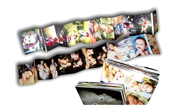 Originální leporelo z 24 vlastních fotek včetně poštovného