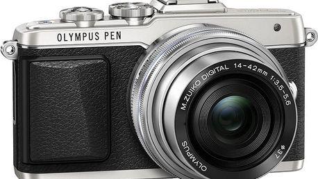 Olympus E-PL7 + 14-42 mm EZ, stříbrná - V205073SE001