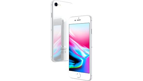 Apple iPhone 8, 256GB, stříbrná - MQ7D2CN/A