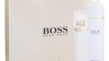 HUGO BOSS Jour Pour Femme dárková kazeta pro ženy parfémovaná voda 75 ml + tělové mléko 200 ml
