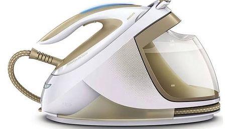 Žehlicí systém Philips PerfectCare Elite GC9640/60 bílá/zlatá + Doprava zdarma