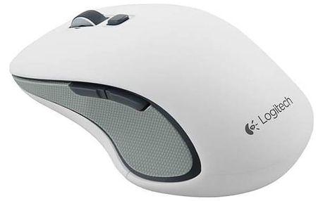 Myš Logitech Wireless Mouse M560 (910-003914) bílá + Doprava zdarma