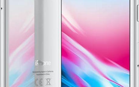 Apple iPhone 8, 64GB, stříbrná - MQ6H2CN/A