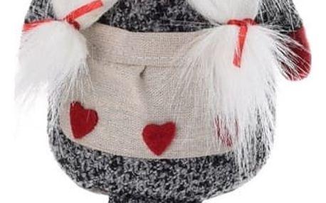 Dekorační vánoční trpaslice, 56 cm
