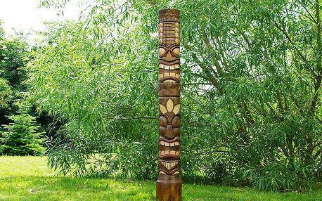 Garthen 715 Dřevěná socha TIKI 150 cm