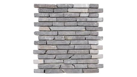 Divero Garth 793 Mramorová mozaika - šedá 1 m2