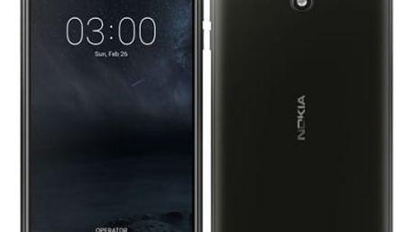 Mobilní telefon Nokia 3 Single SIM (11NE1B01A15) černý