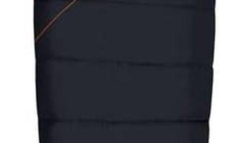 Loap Camper spací pytel mumie Black/Orange