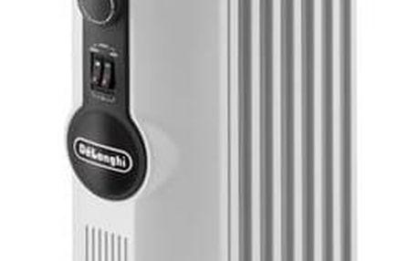 Olejový radiátor DeLonghi TRRS 0715 SE bílý + Doprava zdarma