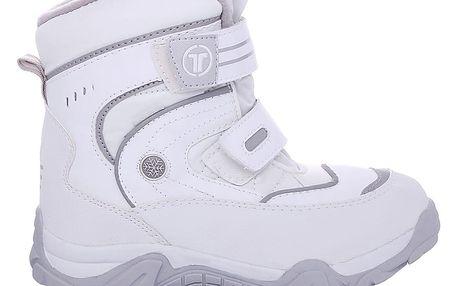 Dámské bílé zimní boty 6166-3WH.G 38