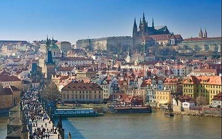 Podzim a zima v Praze v 4 * hotelu se snídaní formou bufetu pro 2 osoby
