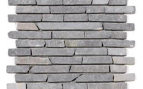 Divero Garth 793 Mramorová mozaika - šedá 1 m2 - 30x30 cm